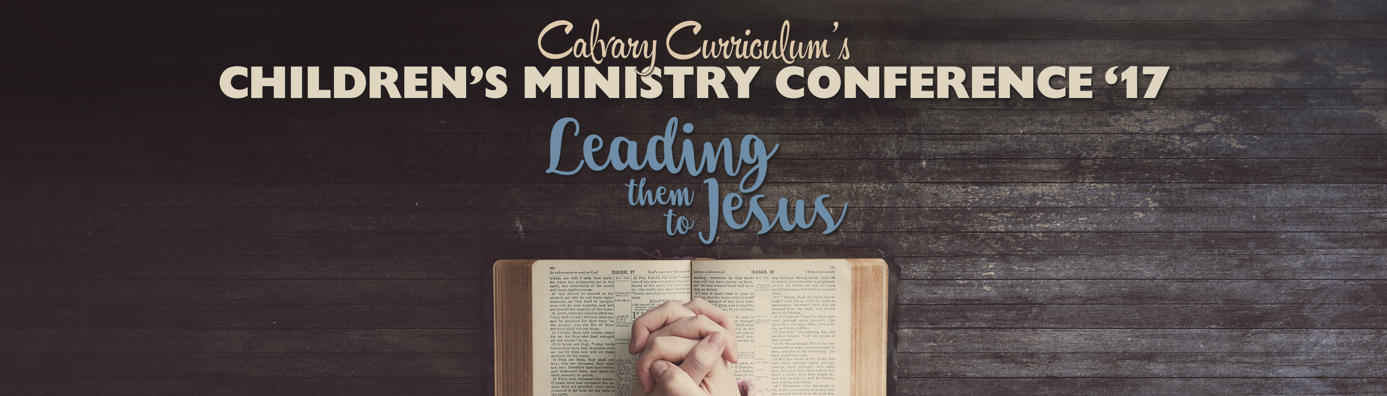 CC's Children's Ministry Conferences